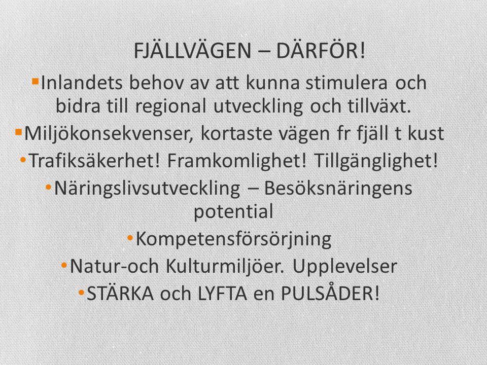 FJÄLLVÄGEN – DÄRFÖR.
