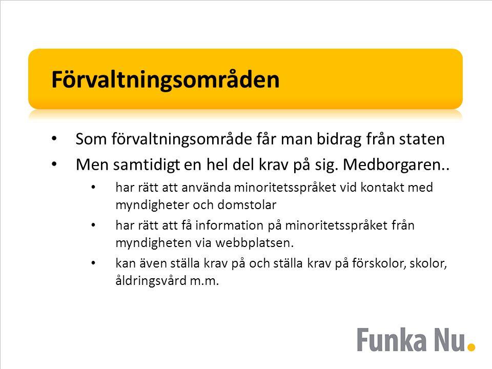 Exempel på flerspråkig webbplats Hur gör Finland som har två officiella språk.