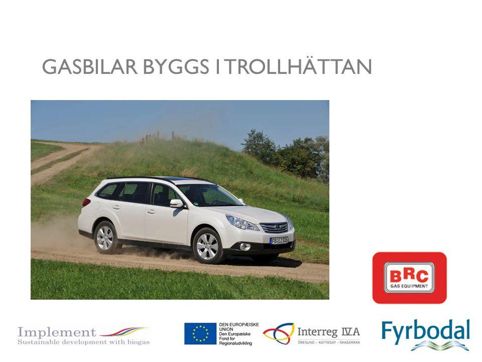 GASBILAR BYGGS I TROLLHÄTTAN