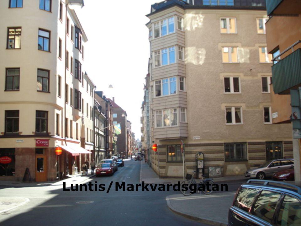 Luntmakargatan/Markvardsgatan 2010 Luntis/Markvardsgatan