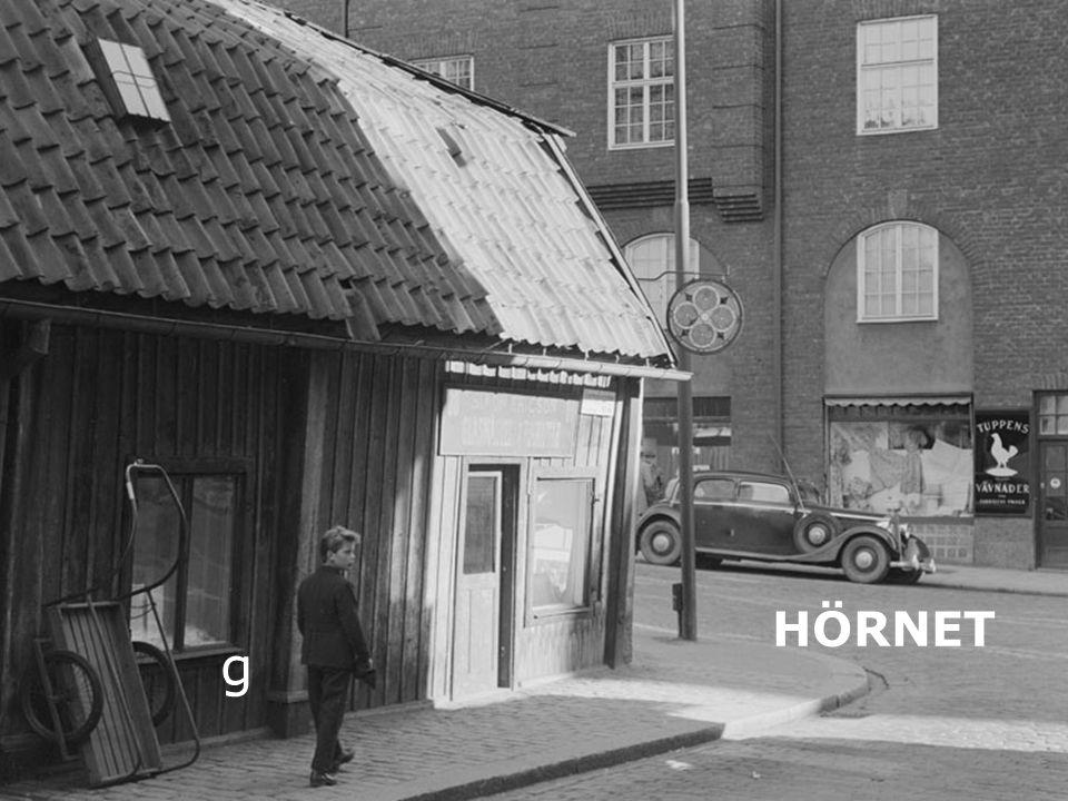 Hörnan Luntis/Rehngatan 1954 g HÖRNET