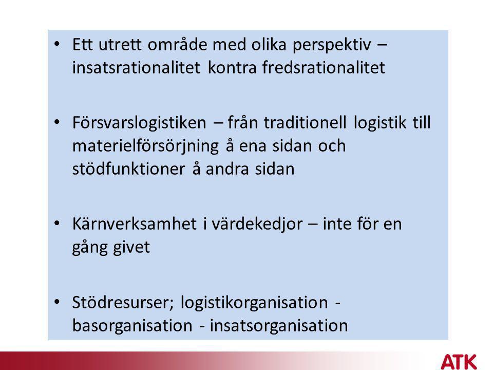 1.Uppdraget 2.Bakgrunden och utgångspunkter 3.Omdaningen som förändringsprocess – några generella synpunkter 4.Synen på omdaningen från ledning och fackliga företrädare vid myndigheterna 5.Möjligheter till rationalisering och hemtagning av besparingar 6.Former för ledning och beställning 7.Rationalisering av administration och arbetsplatsservice 8.En framtida verkstadsorganisation 9.Ett framtida FMV – Myndigheten för Materiel- och Förnödenhetsförsörjning 10.Sammanfattande slutsatser och rekommendationer