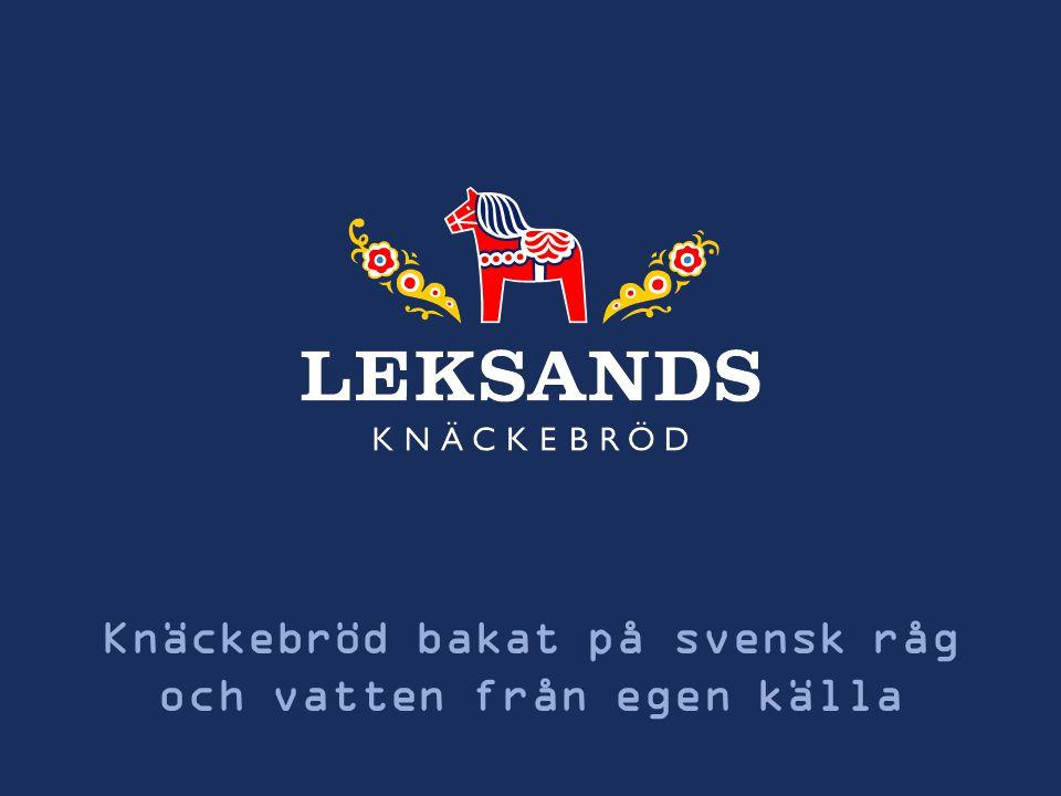Knäckebröd bakat på svensk råg och vatten från egen källa 1
