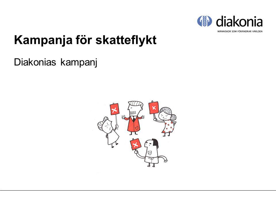 Kampanja för skatteflykt Diakonias kampanj