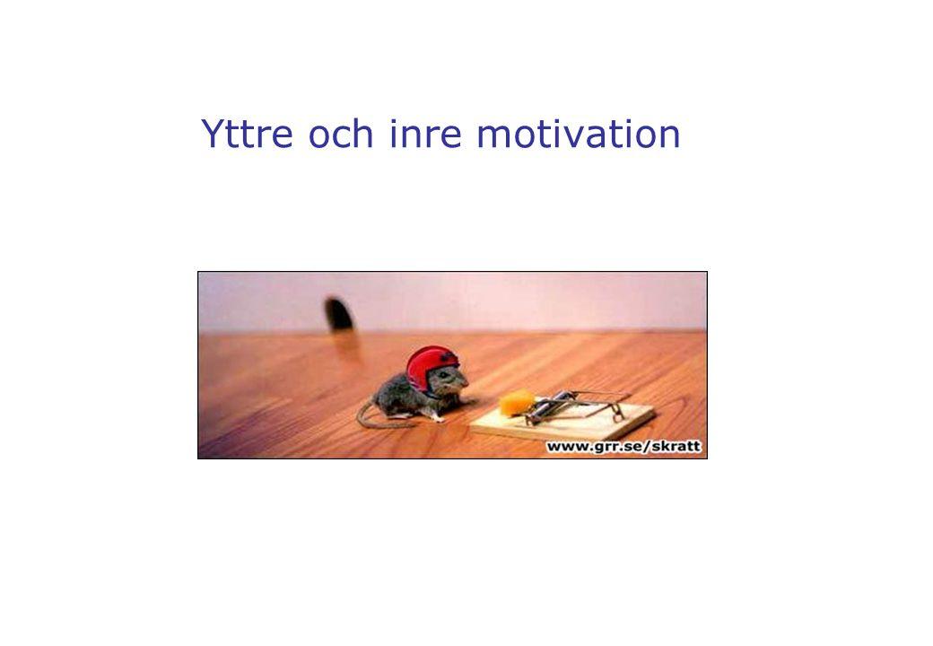 Yttre och inre motivation