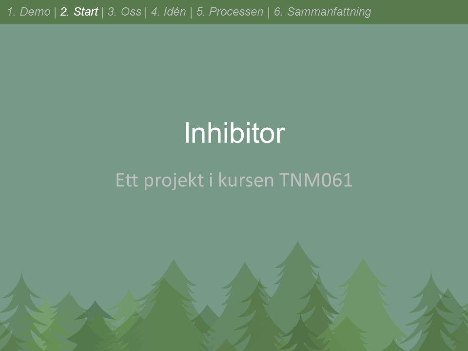 Inhibitor Ett projekt i kursen TNM061 1. Demo | 2.