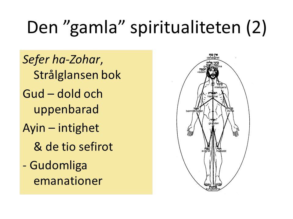 """Den """"gamla"""" spiritualiteten (2) Sefer ha-Zohar, Strålglansen bok Gud – dold och uppenbarad Ayin – intighet & de tio sefirot - Gudomliga emanationer"""