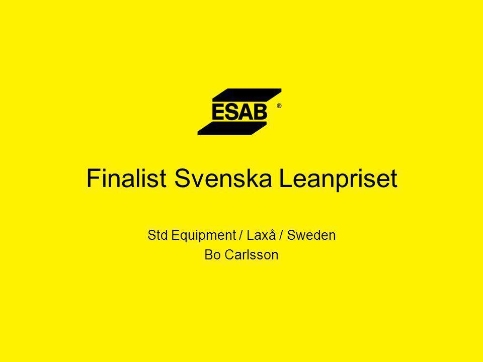  Fabriken i Laxå öppnade 1942 i Laxå bruks gamla lokaler och i maj levererades den första svetsmaskinen, en K160 svetstransformator.