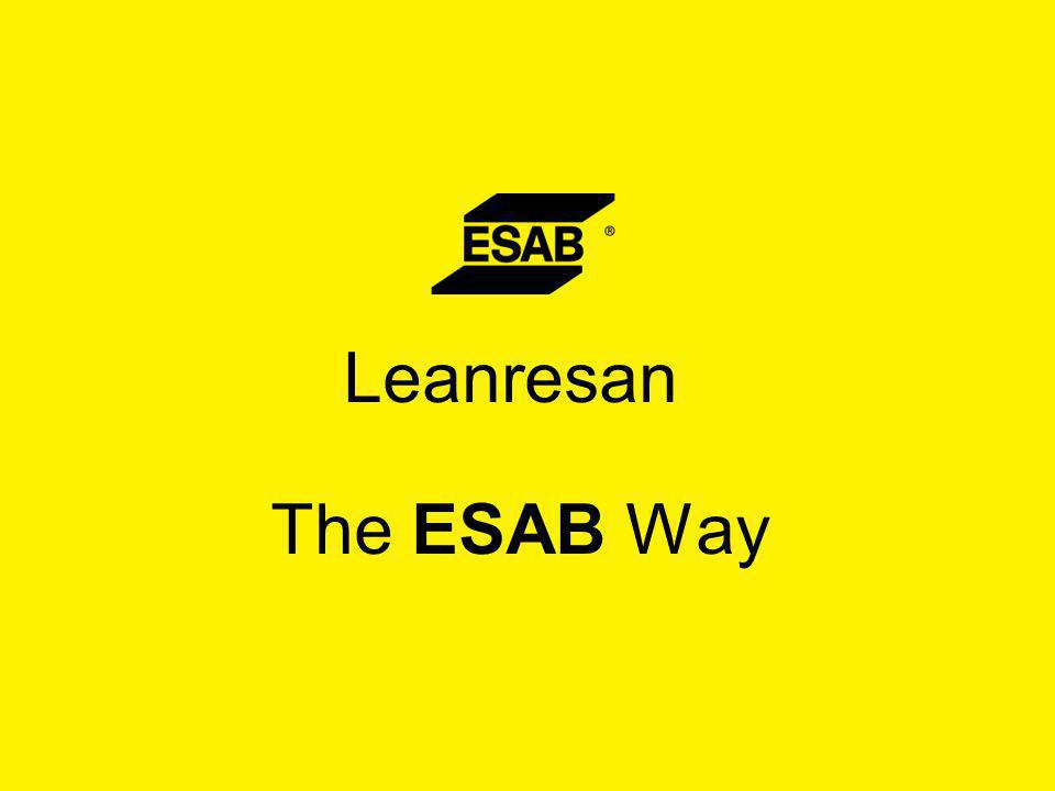 Leanresan The ESAB Way