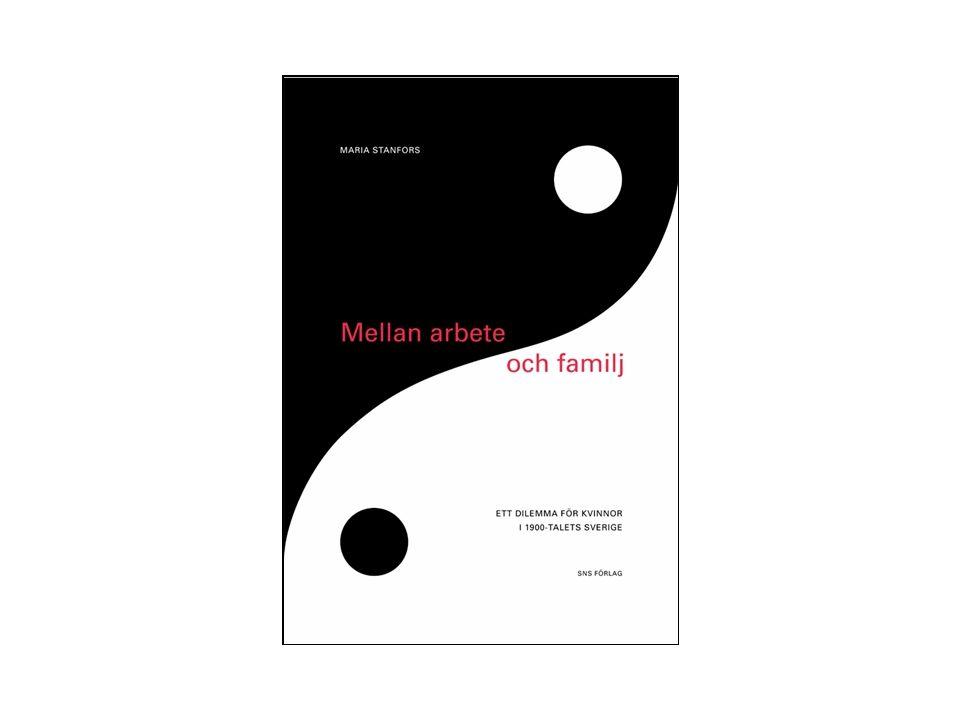 Disposition •Familjebildning och fertilitet •Arbete och sysselsättning •Vem för vad i hemmet •Löner och löneskillnader •Utbildning och utbildningsval •Olika kombinationer av arbete och familj