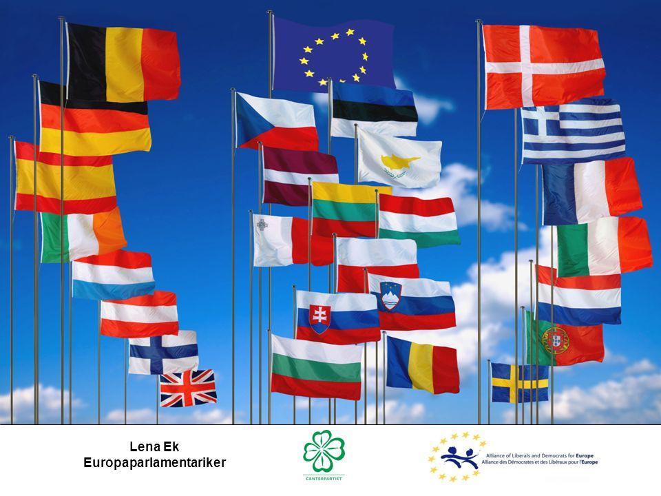 Lena Ek Europaparlamentariker