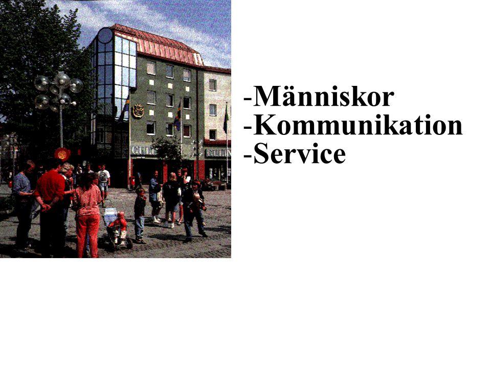 -Människor -Kommunikation -Service