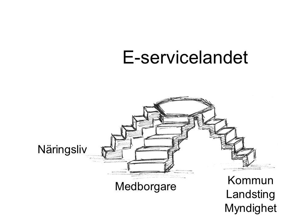 Porten till E-service landet Infostruktur Metadata Nomenklatur
