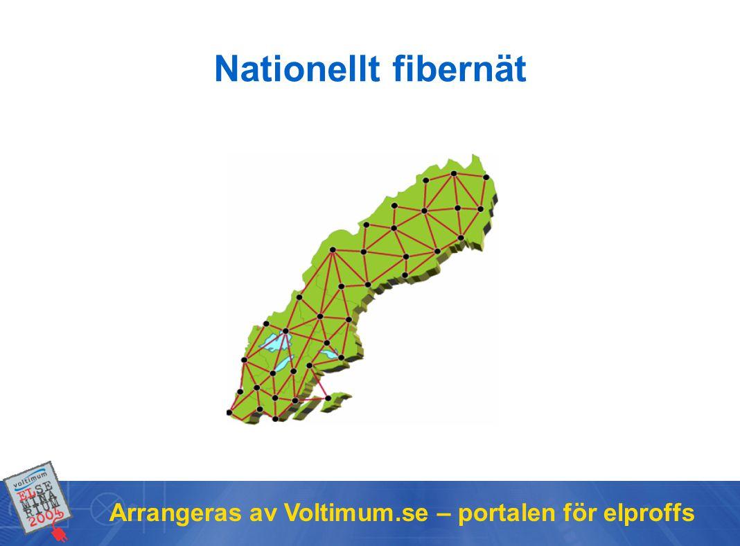 Arrangeras av Voltimum.se – portalen för elproffs Nationellt fibernät