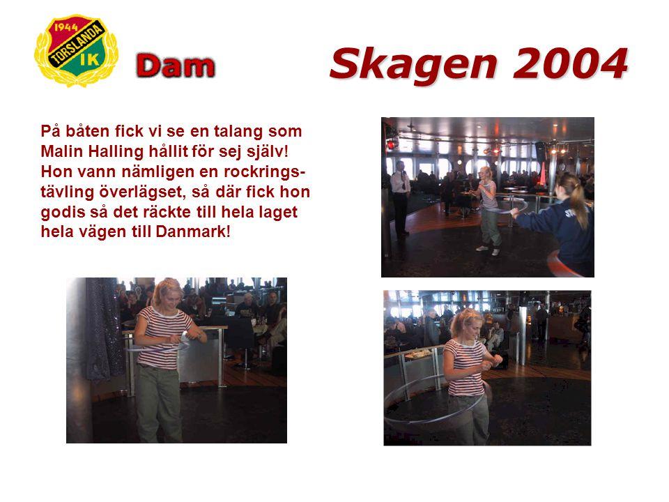 Torsdag morgon kl.08:15 lastades bilar med både spelare och material och resan till Danmark och Skagen kunde börja.