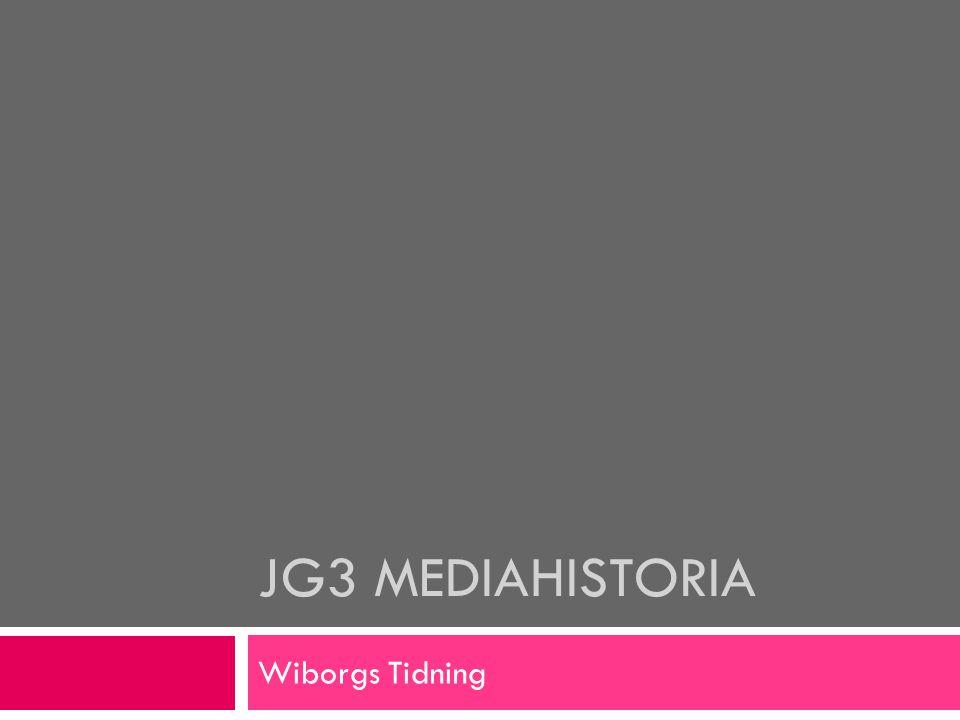Innehållet  Tidningslandskapet i Viborg  Exempel: Wiborgs Tidning
