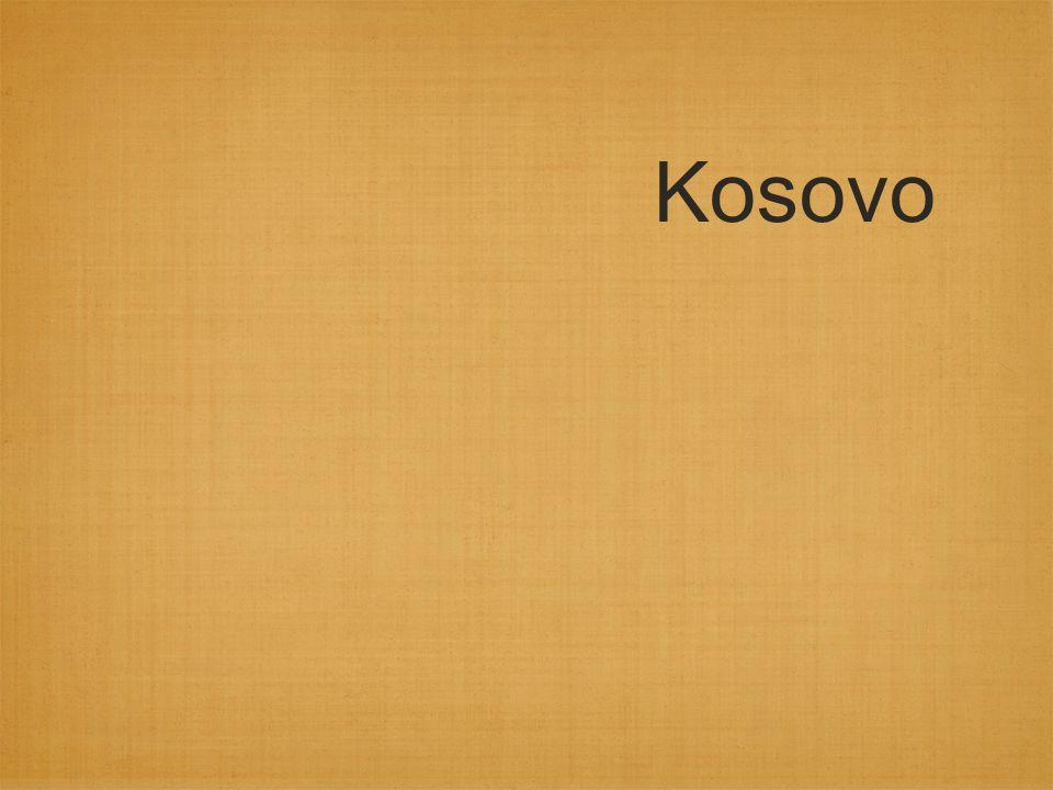Det serbiska svaret Serberna under Milosevic har på ytan kontrollen över Kosovo Serbiska säkerhetsstyrkor gör sig skyldiga till övergrepp i jakten på illegala vapen o dylikt 1990-1997 förlorar 75 albaner livet till följd av serbernas agerande