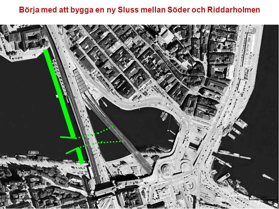 J J Förbered för en Tågstation på bro över Söderström