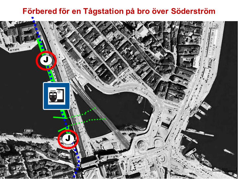 J J Nacka Värmdö Bygg en Bussterminal i hålet mellan broarna
