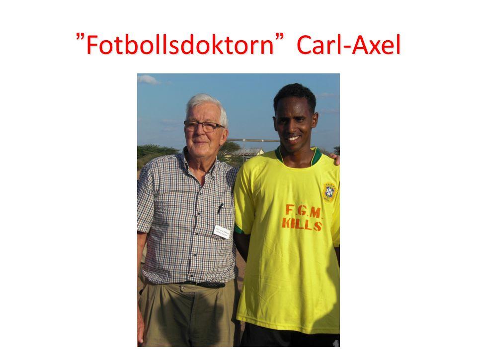 """""""Fotbollsdoktorn"""" Carl-Axel"""