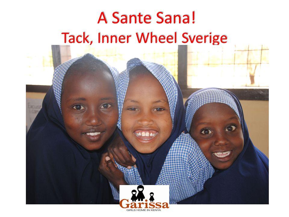 A Sante Sana! Tack, Inner Wheel Sverige A Sante Sana! Tack, Inner Wheel Sverige