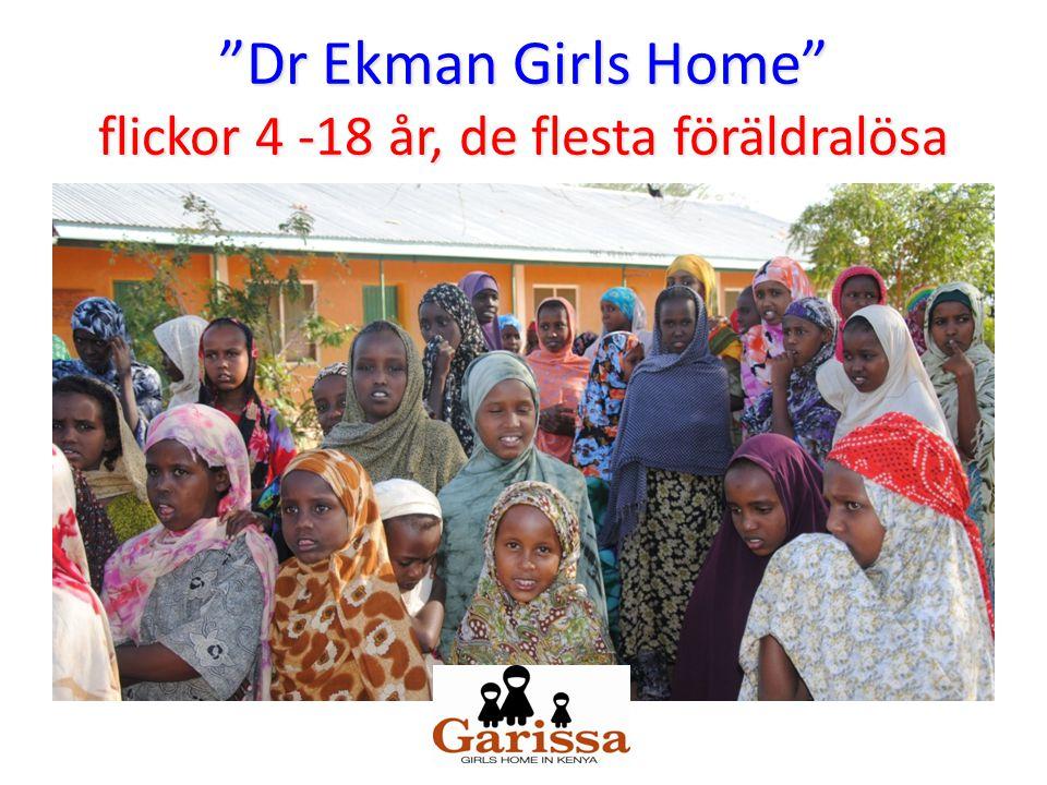 """""""Dr Ekman Girls Home"""" flickor 4 -18 år, de flesta föräldralösa"""