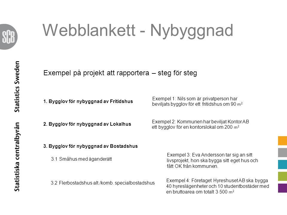 Webblankett - Nybyggnad 1.
