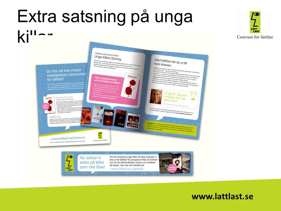 www.lattlast.se Extra satsning på unga killar