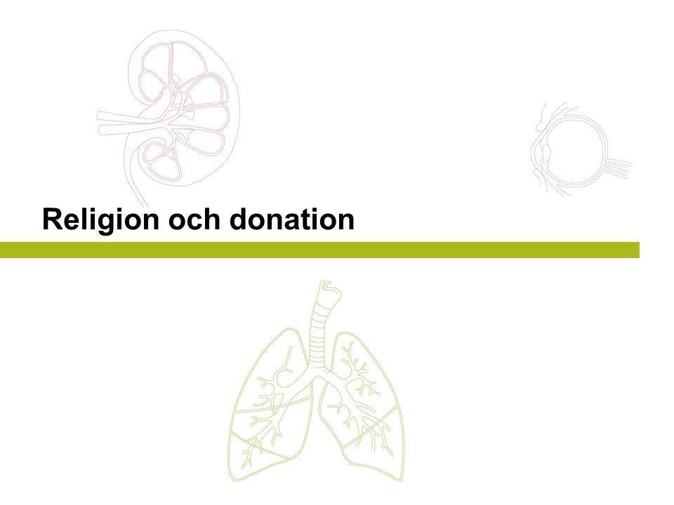 Religion och donation