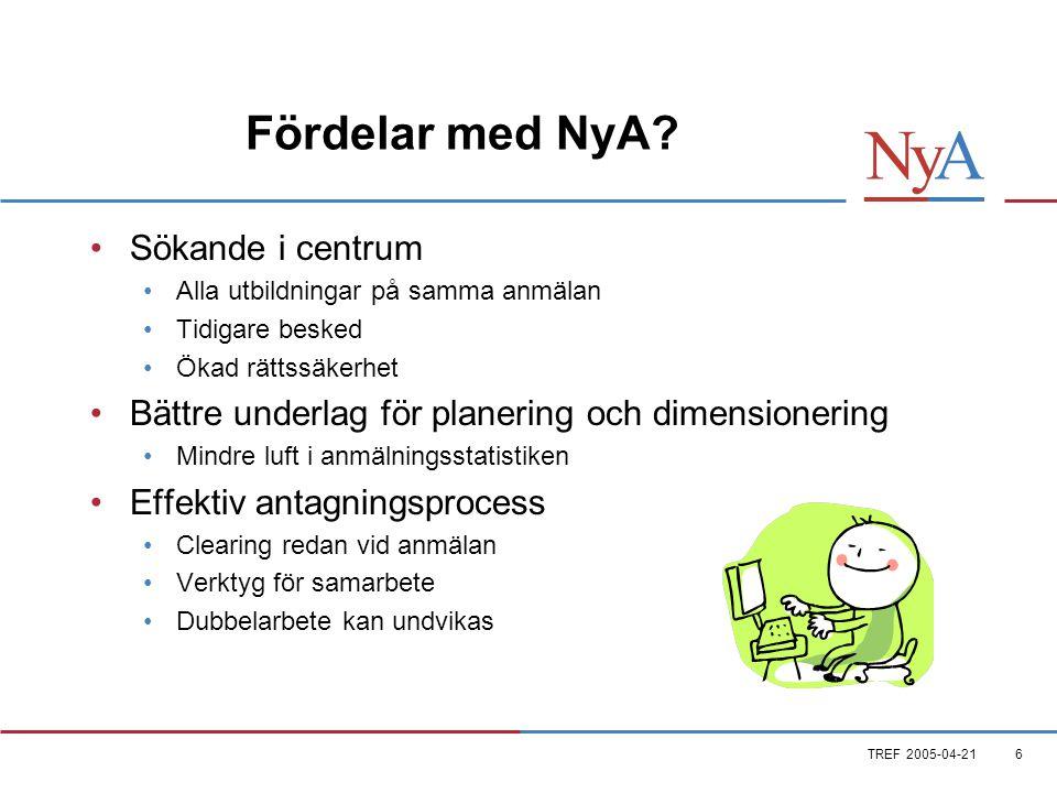 TREF 2005-04-216 Fördelar med NyA.