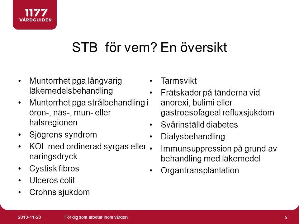 Vilka krav gäller för att få STB.
