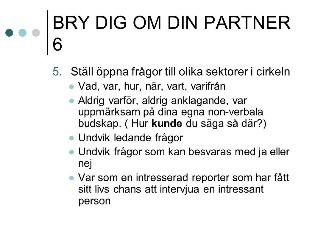 BRY DIG OM DIN PARTNER 6 5.