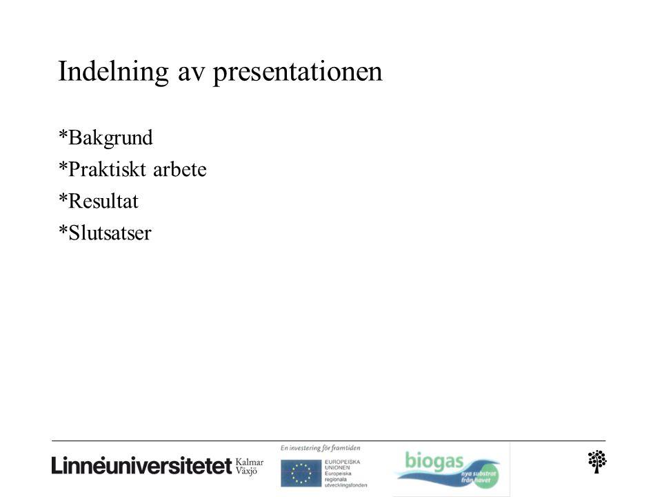 Rötning (Kalmar biogas AB process) En biologisk och följaktligen känslig process.Viktigt att inte giftiga ämnen kommer in i processen.