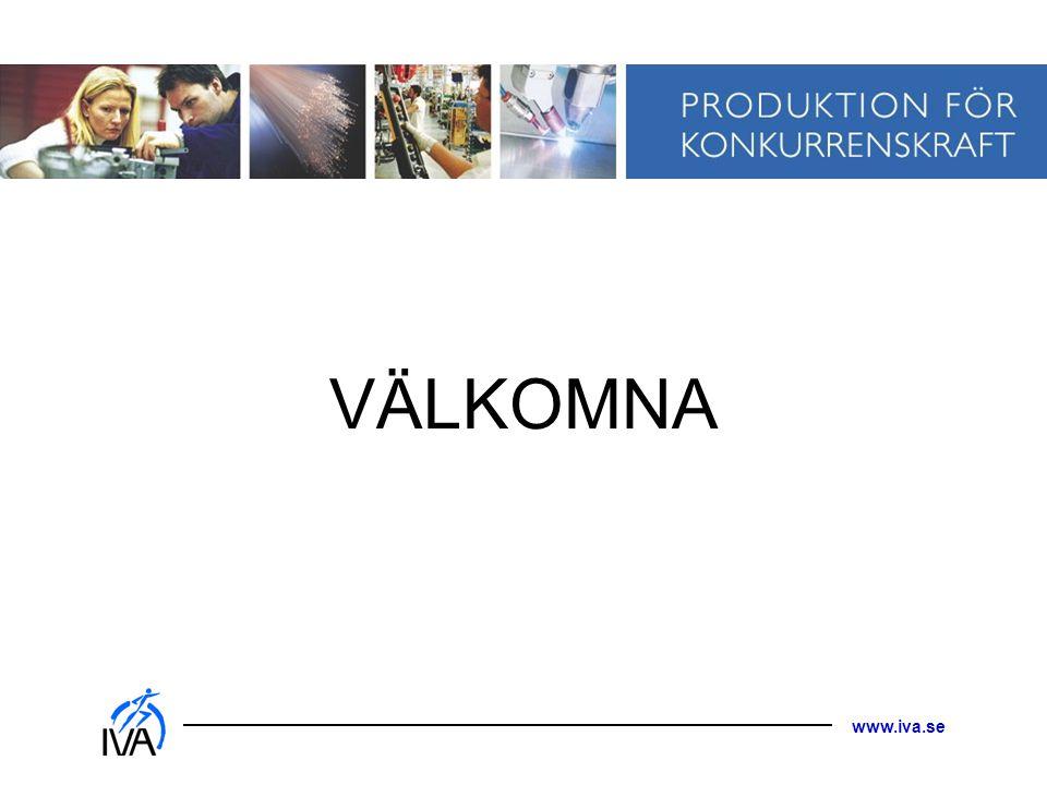 www.iva.se VÄLKOMNA