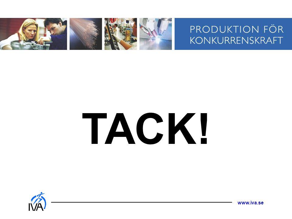 www.iva.se TACK!