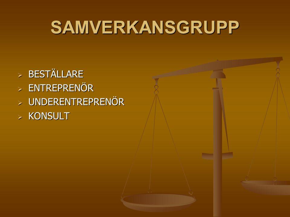 ERFARENHETER I BYGG- OCH ANLÄGGNINGSBRANSCHEN NORGE  Erfarenheter från tre Norska samverkans entreprenad projekt inom anläggningssektorn visar att de medverkande upplever denna typ av samverkan kombinerad med ekonomiska incitament som mer positiv än traditionella entreprenader.