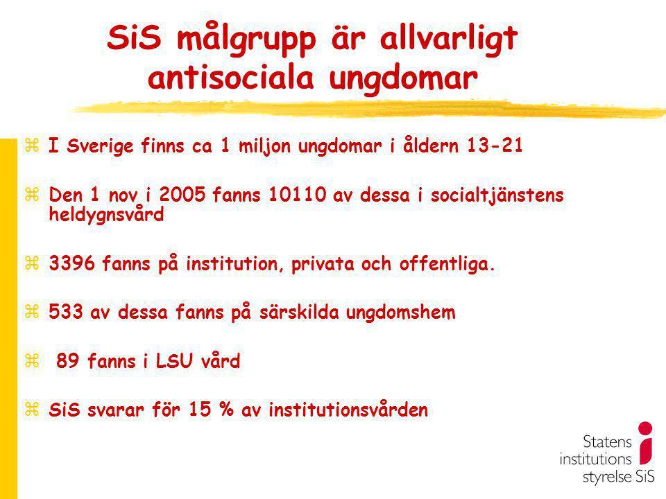 ADAD 2005 se SiS hemsida www.stat-inst.se zTidigare placerad 52%, 18% placerade 3 eller fler ggr zSeparation eller saknar relation 76%.