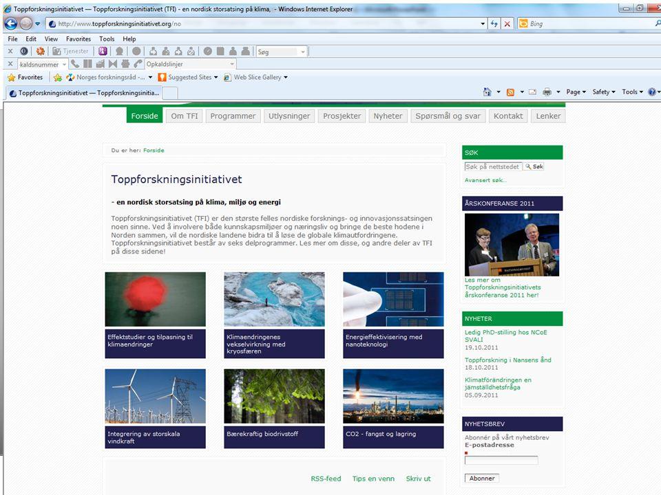 Nordisk Ministerråd Nordisk Råd Nordisk Kulturfond 18