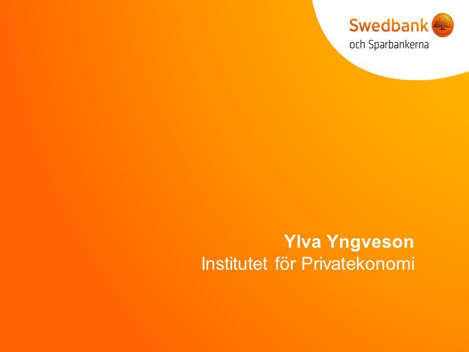 Ylva Yngveson Institutet för Privatekonomi