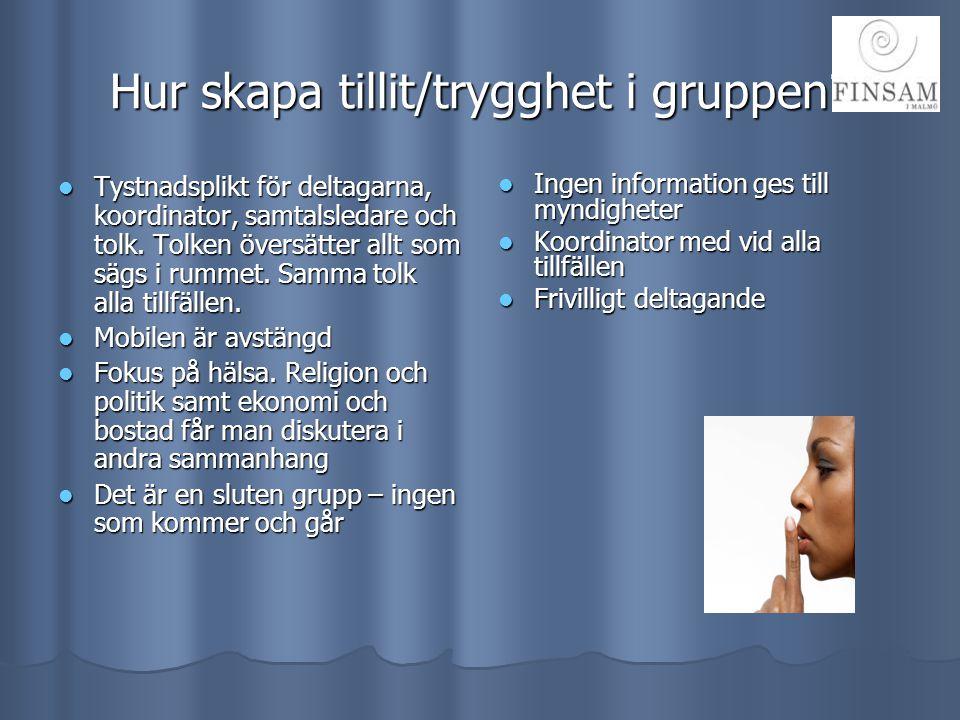 Teman/lektionstillfällen för Hälsoskolan i Malmö INTRODUKTIONSJUKSKÖTERSKASJUKGYMNASTPSYKOLOGILÄKAREPSYKOLOGIITANDLÄKAREBARNMORSKA