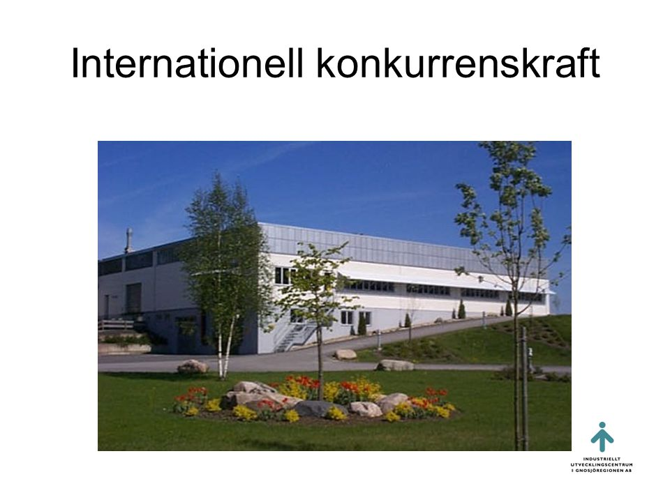 Internationell konkurrenskraft