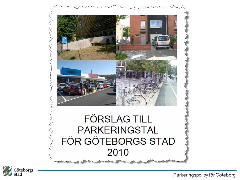Parkeringspolicy för Göteborg