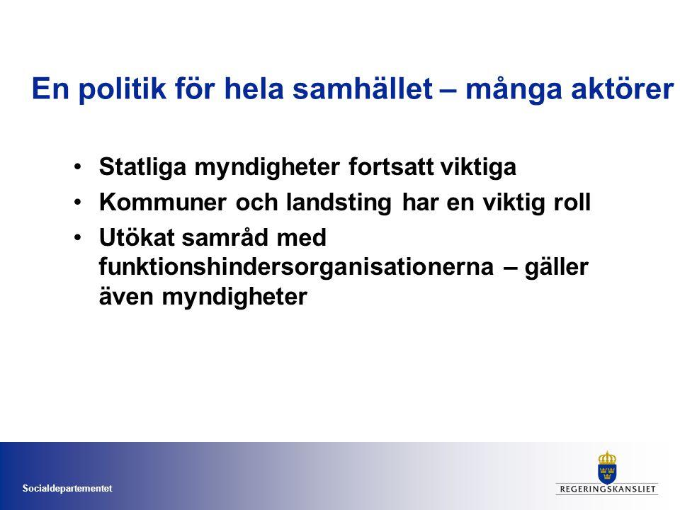 Socialdepartementet Strategin.