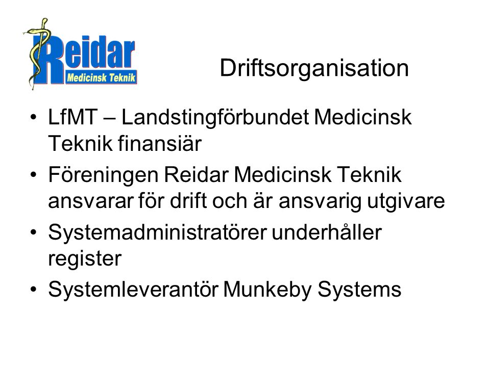 Vad kan reidar MTP användas till mer.