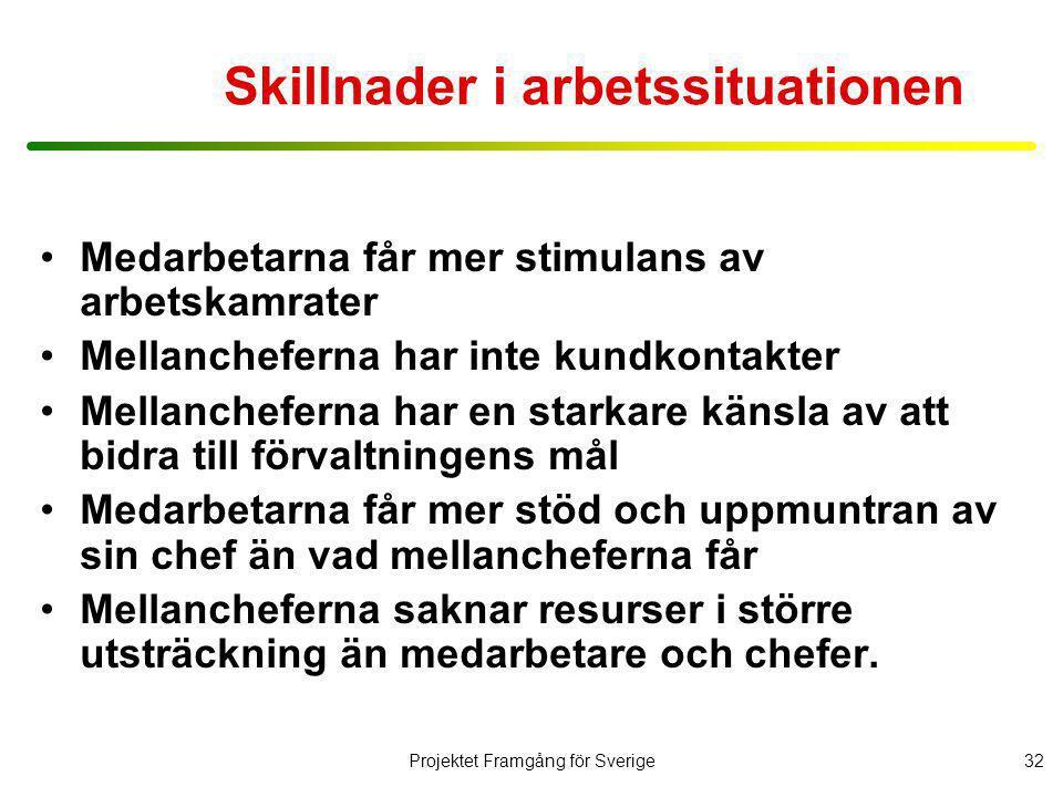 Projektet Framgång för Sverige33 Vad skapar långsiktig tillväxt för svenska företag .