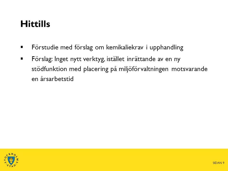 Fortsättning  Beslut i MHN dec 2013  Remittering i staden vintern 2014  Beslut i KF maj 2014 SIDAN 10
