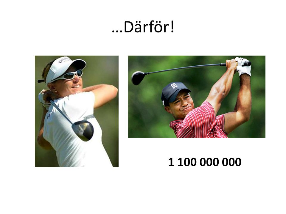 • Hur många anser att fysträning är viktigt för golfprestationen.