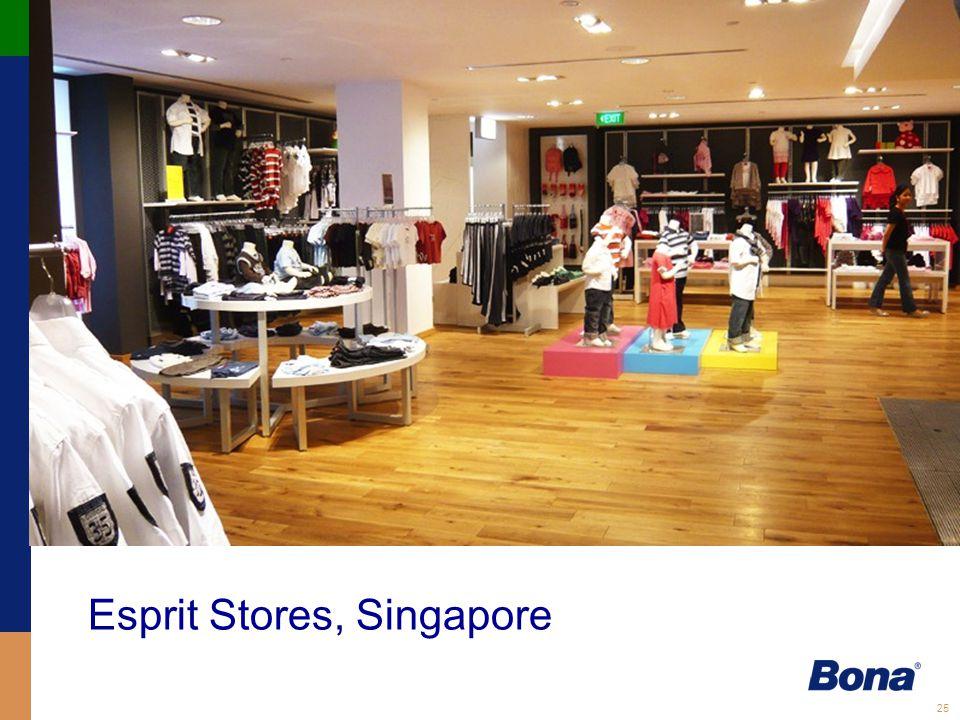 25 Esprit Stores, Singapore