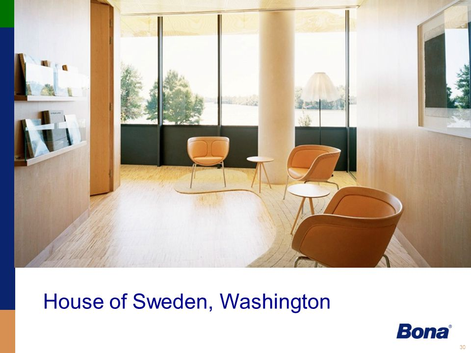 30 House of Sweden, Washington