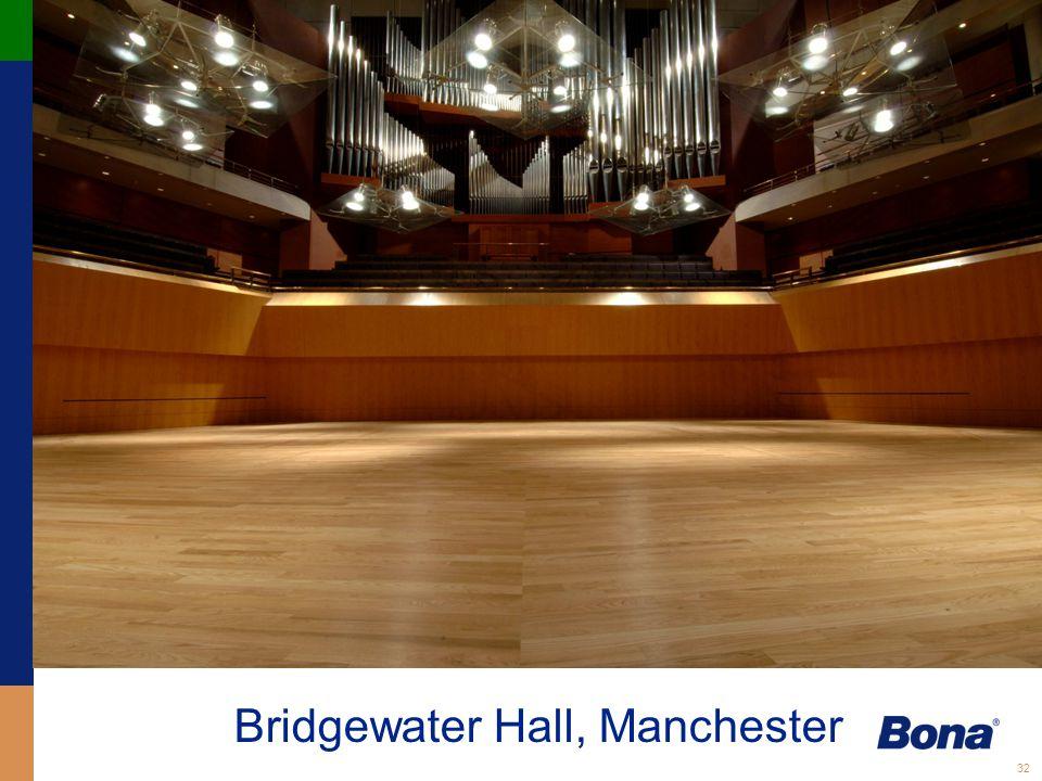 32 Bridgewater Hall, Manchester